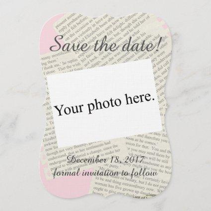 "Vintage ""Save the Date"" Save The Date"