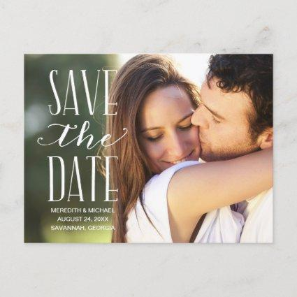 Vintage Whimsy | Photo Save the Date Announcements Cards