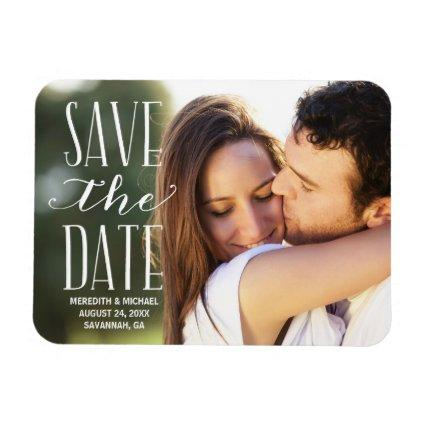 Vintage Whimsy | Photo Save the Date Magnet
