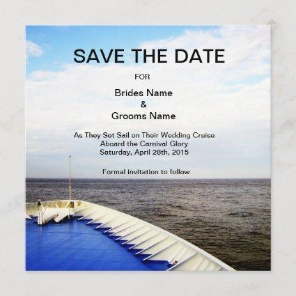 Voyage of Love l Cruise Ship Save The Date