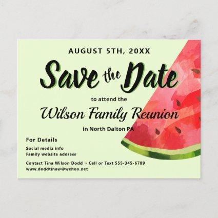 Watermelon Reunion BBBQ Party