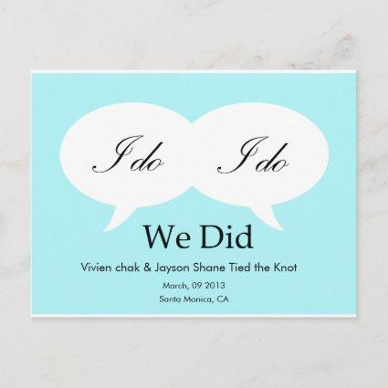 WE DID - Customized Template