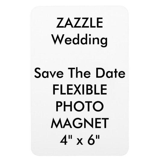 Wedding Custom Save The Date Photo Fridge Magnets