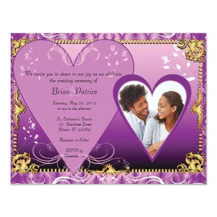 Wedding Invitation Template insert Photo, I have