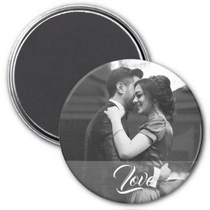 Wedding Magnets with text Love