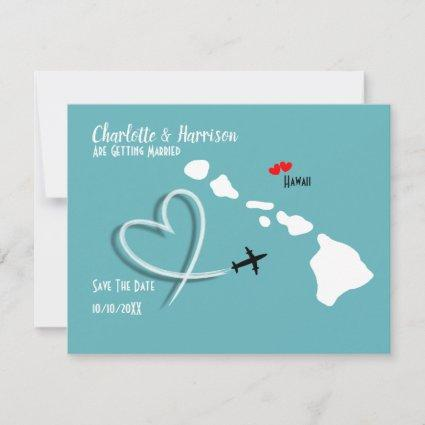 Weddings Destination Hawaii Save The Date