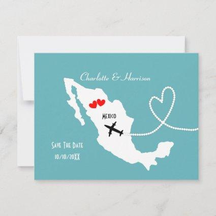 Weddings Destination Mexico Save The Date