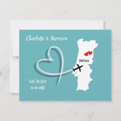 Weddings Destination Portugal Save The Date