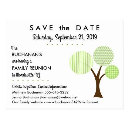 Whimsical Family Tree Reunion