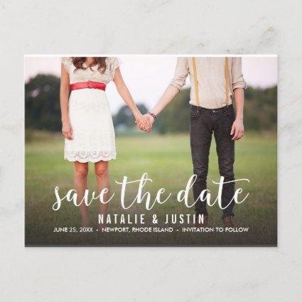 Whimsy Photo Save the Date Announcements