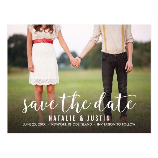Whimsy Photo Save the Date Announcements Cards