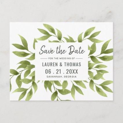 Whispering Willows Save the Date Wedding