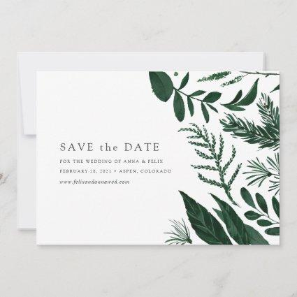 Wild Forest Save the Date Card