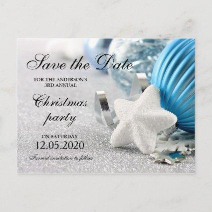 Winter And Holiday Party Save The Date Announcement