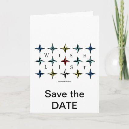 Wishlist, Save the DATE Announcement