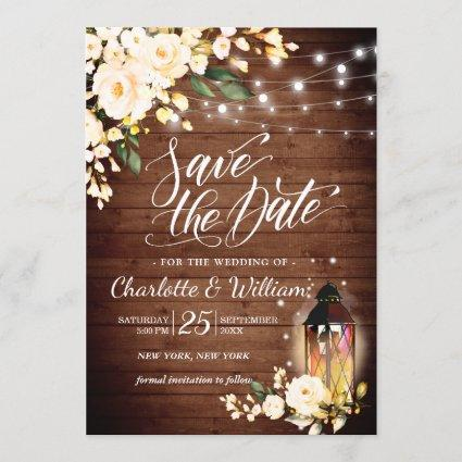Green and Navy Blue Retro Save the Date Save the Date Paper Lantern Mod Printable Watercolor Paper Lantern Save the Date Card in Blue