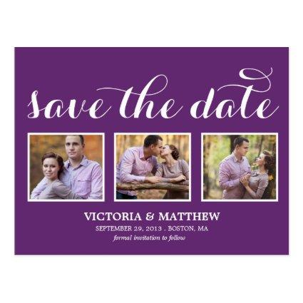 YOUNG & IN LOVE | SAVE THE DATE Announcements Cards