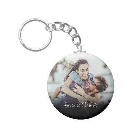 Your Favourite Couple Photo Keychain