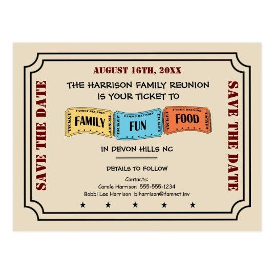 Your Ticket to a Fun Family Reunion